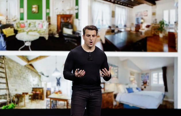 Ο συνιδιοκτήτης της Airbnb, Μπράιαν Τσέσκι.