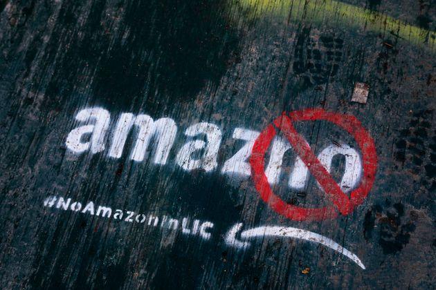 H Amazon δεν πάει στη Νέα Υόρκη