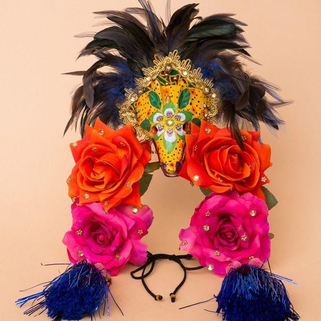 Flores na cabeça?