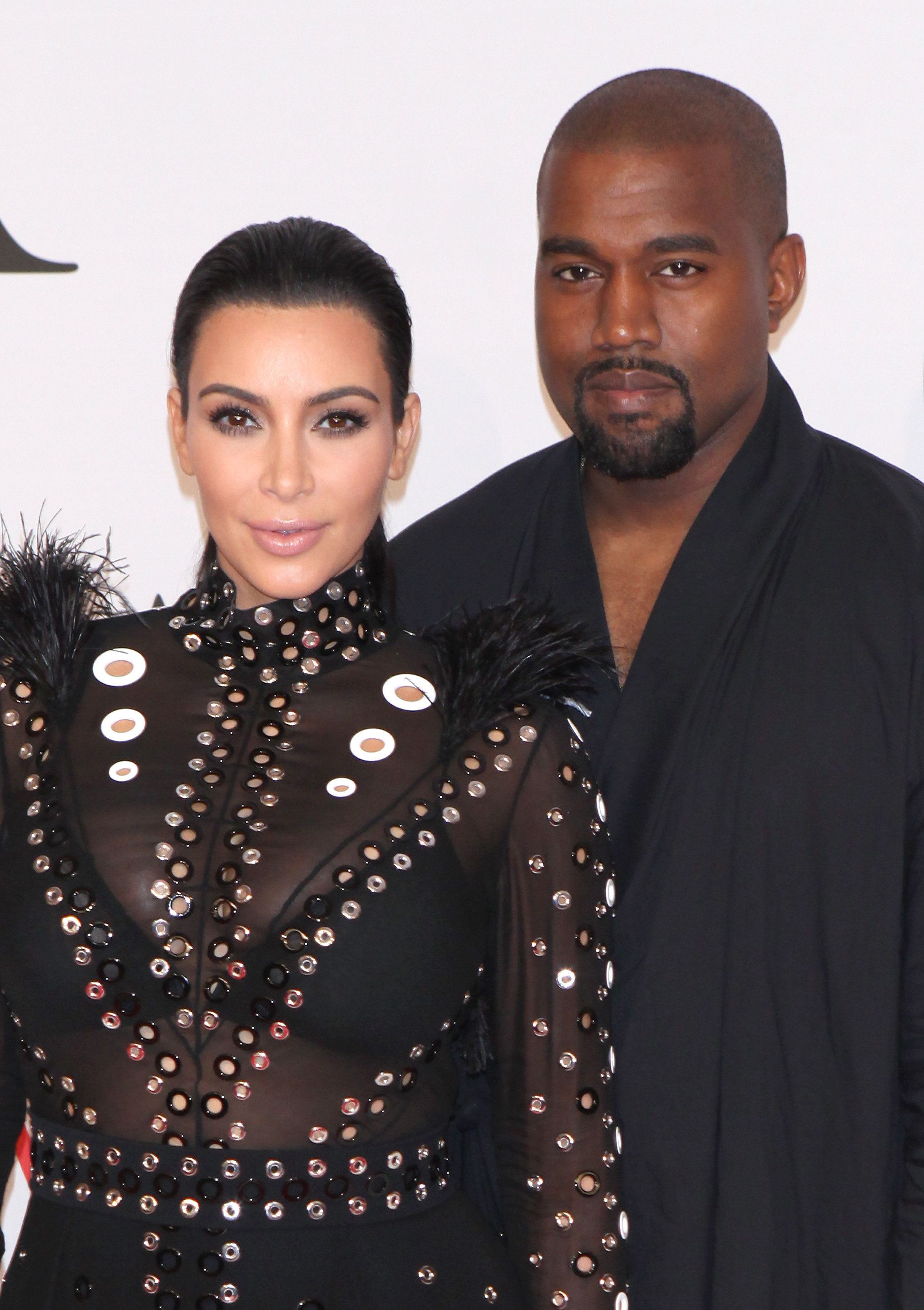 NEW YORK, NY - JUNE 1: Kim Kardashian and Kanye West at the 2015 CFDA Fashion Awards at Alice Tully Hall, Lincoln Center in New York City on June 1, 2015. Credit: Diego Corredor/MediaPunch/IPX