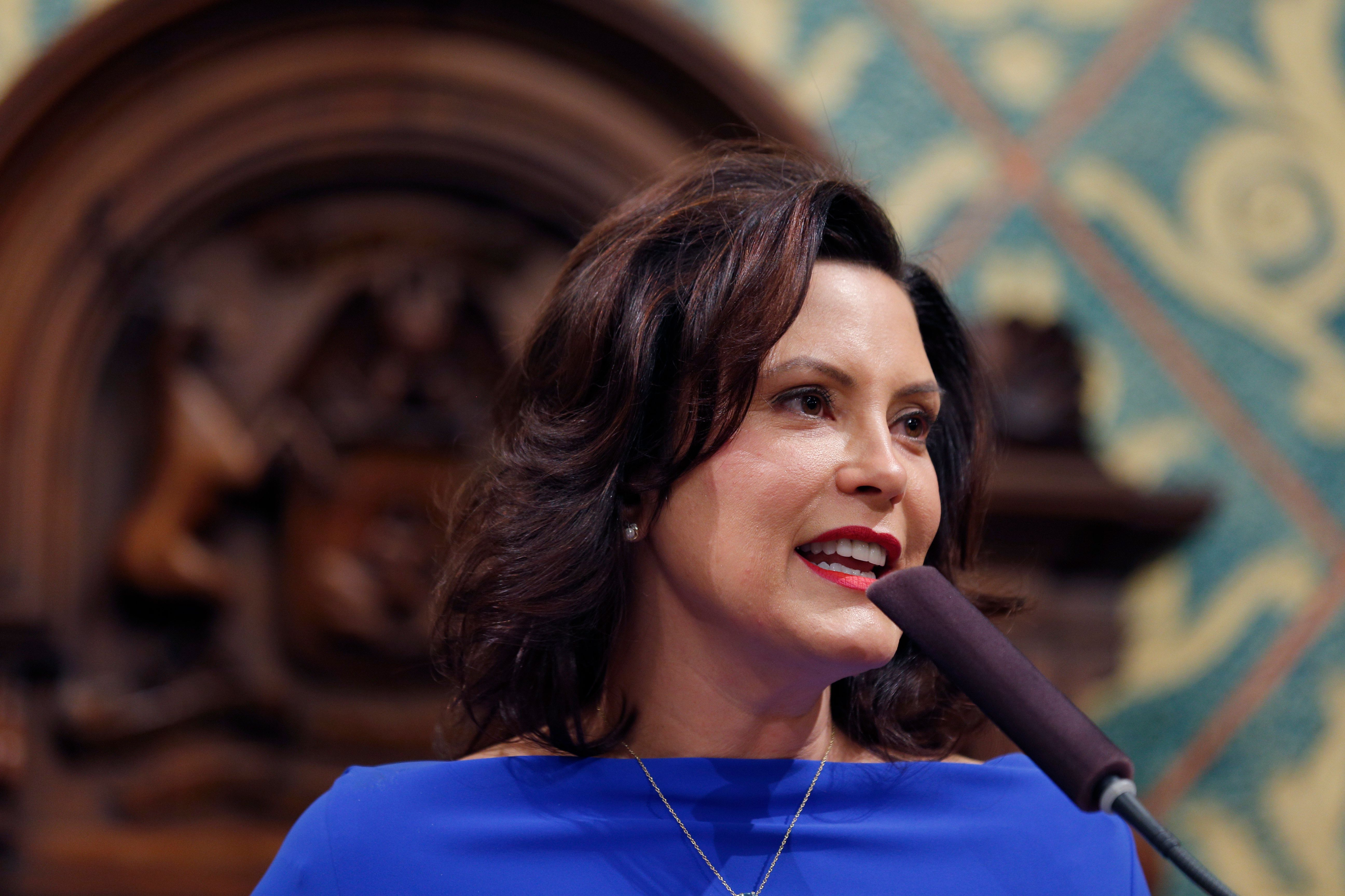 AfterMichigan Gov. Gretchen Whitmer's first State of the State address on Feb. 12, a Detroit news station highlighted s