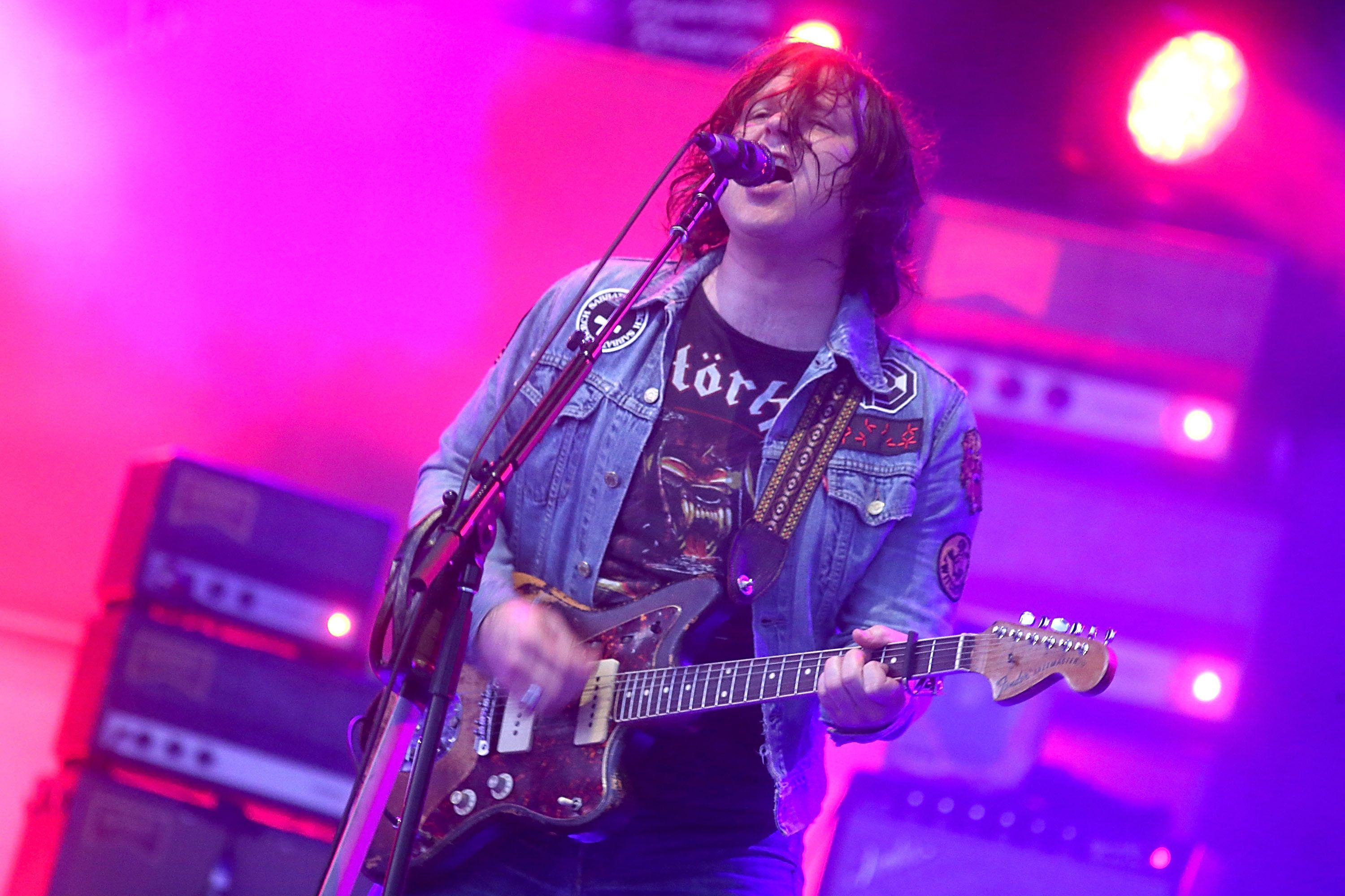 AUSTIN, TEXAS - OCTOBER 06:    Ryan Adams performs in concert on the first day of week one of the Austin City Limits Music Festival at Zilker Park on October 6, 2017 in Austin, Texas.  (Photo by Gary Miller/FilmMagic)