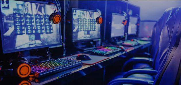 専門の「ゲーミングルーム」のイメージ