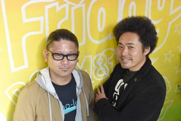 アカペラグループINSPi(インスピ)のリーダー、杉田篤史さん(左)と「TOKYO