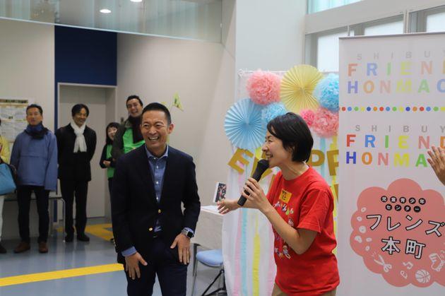 毎年、長谷部・渋谷区長も来てくれています。