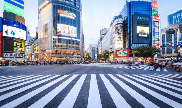 (写真はイメージ)渋谷駅前のスクランブル交差点