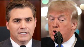 Jim Acosta, Donald Trump