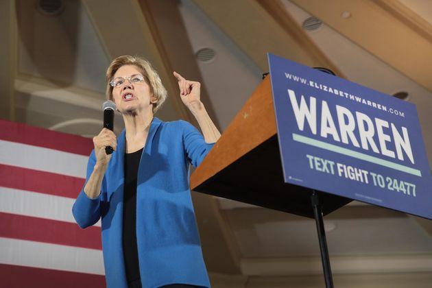 엘리자베스 워렌은 경제적 불평등과 기득권에 맞선 '투쟁(fight)'을 말하는