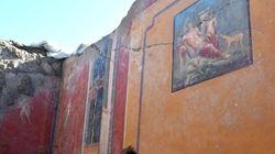 Σπουδαίο εύρημα στην Πομπηία-Ανακαλύφθηκε νωπογραφία του Νάρκισσου σε άριστη
