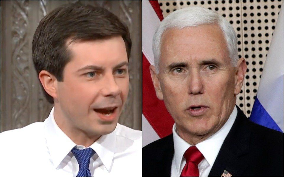 Buttigieg and Pence