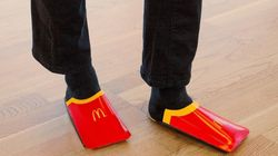 McDonald's Suède se moque de Balenciaga en recyclant ses boîtes à frites en