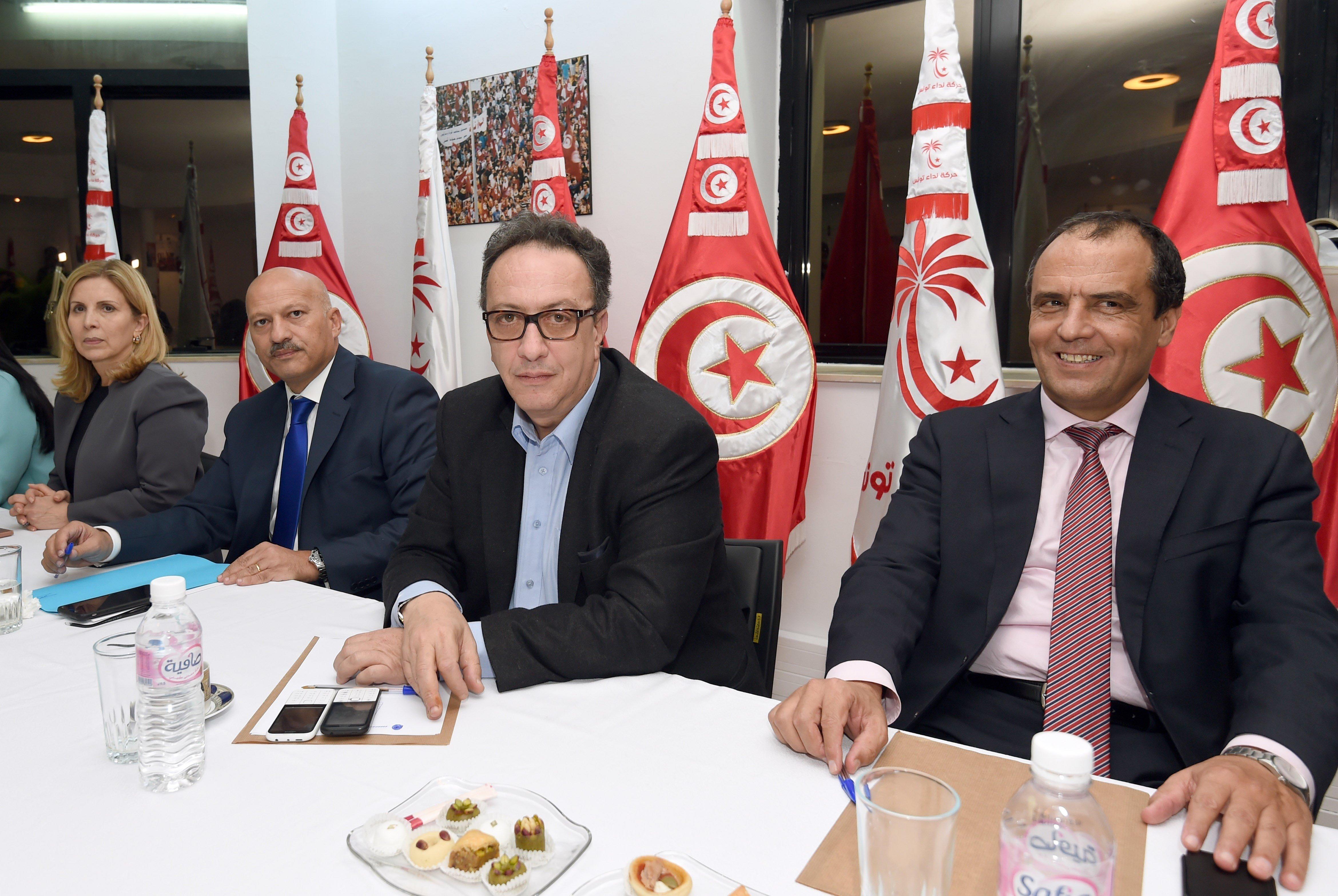 Nouvelle crise à Nidaa Tounes? Son adhésion au parti gelée par Hafedh Caïd Essebsi, Ridha Belhaj