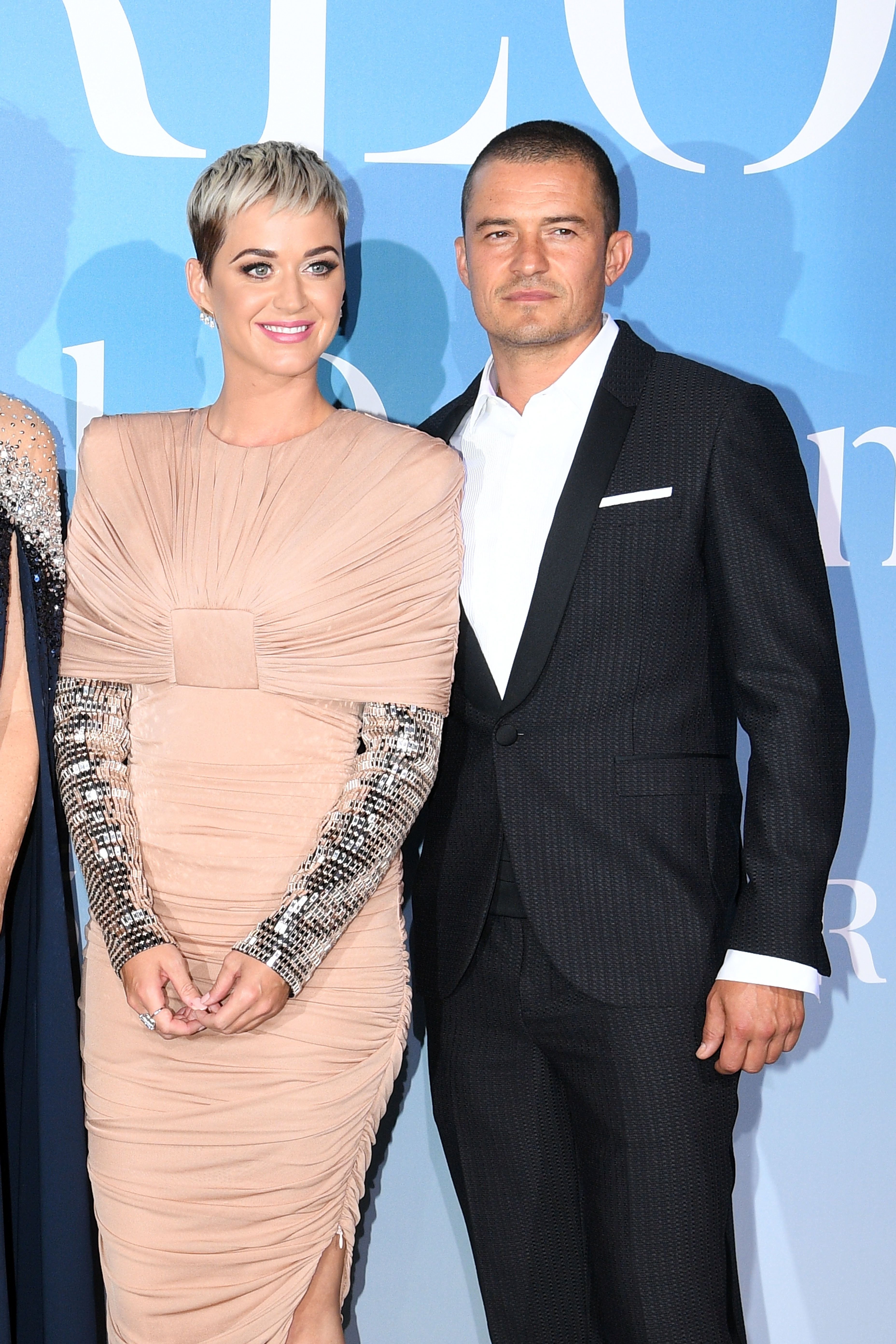FULL BLOOM: Katy Perry And Orlando Bloom Tease Engagement After 3 Years