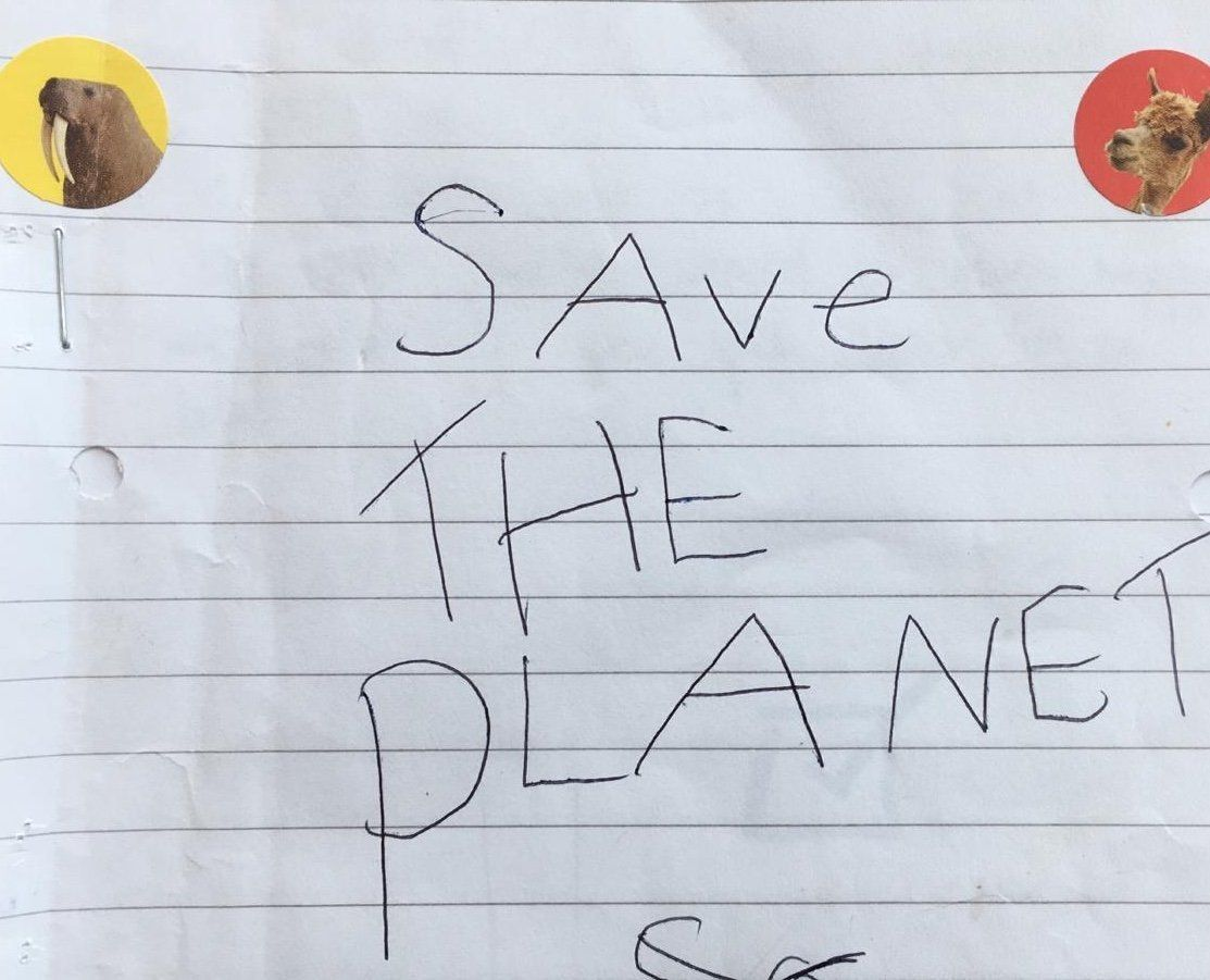 HEARTBREAKING: 'The Earth Is Getting Sadder': Read This 6-Year-Old's Adorable 'Save The Planet'