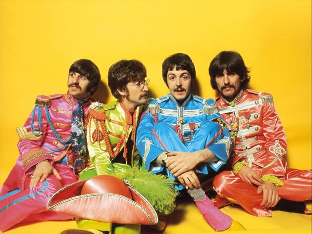 Ringo Starr, John Lennon, Paul McCartney and George Harrison