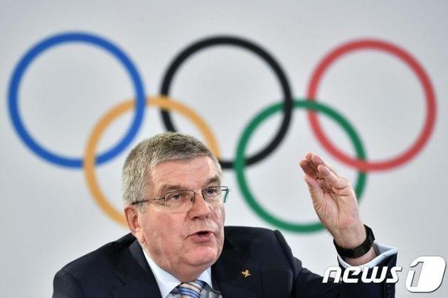 IOC위원장이 '서울·평양 올림픽 공동유치'에 긍정적인 신호를