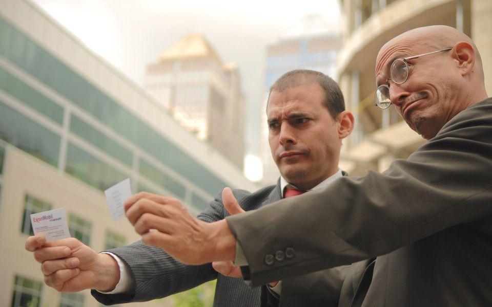 Gemeinsam sindIgor Vamos und Jaques Servin das AktivistenduoThe Yes Men,das seit zwei...