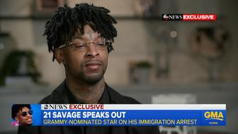 21 Savage speaks out after being released.