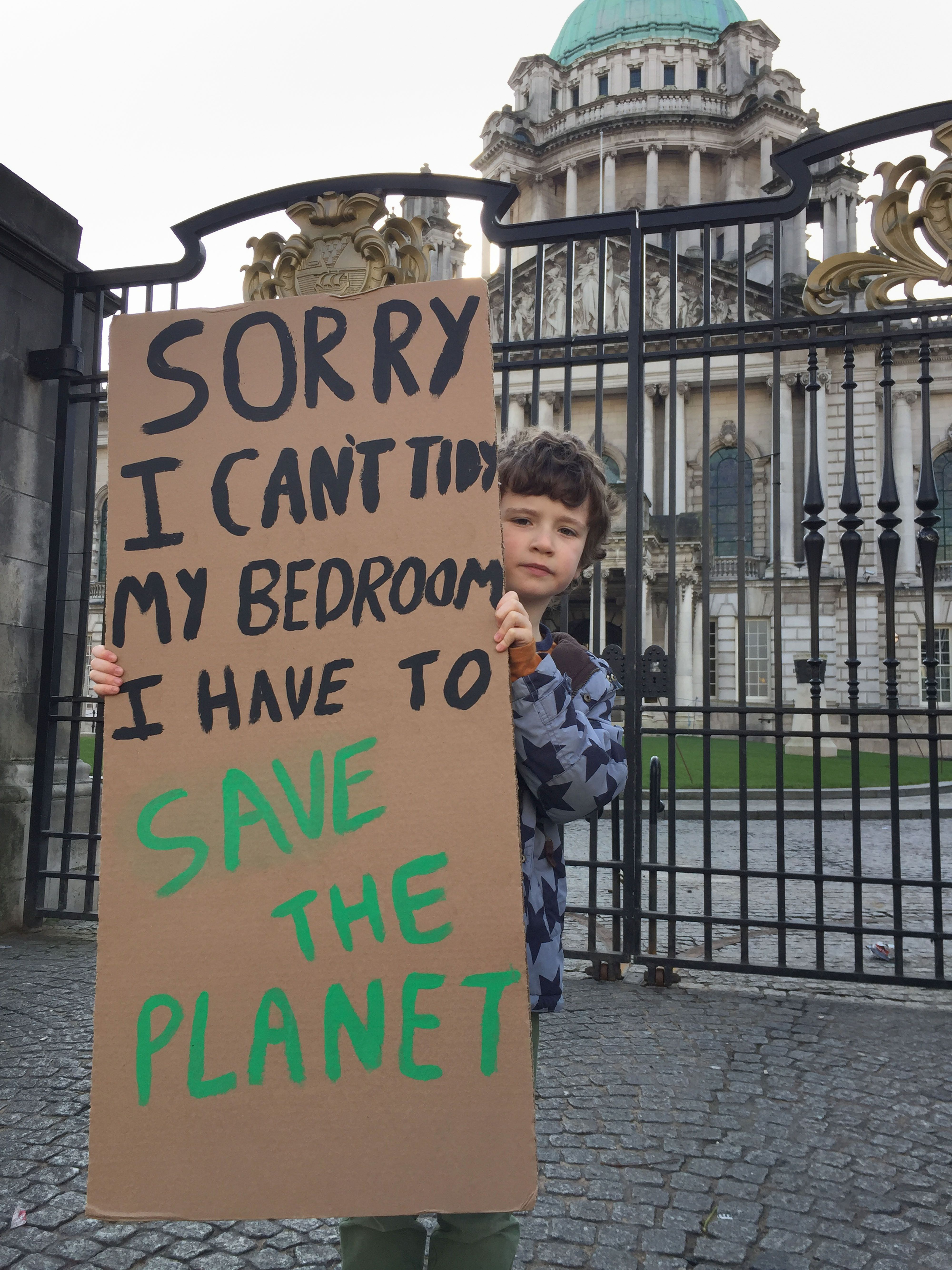 Schoolchildren Swarm 60 Towns And Cities In Huge Climate Change