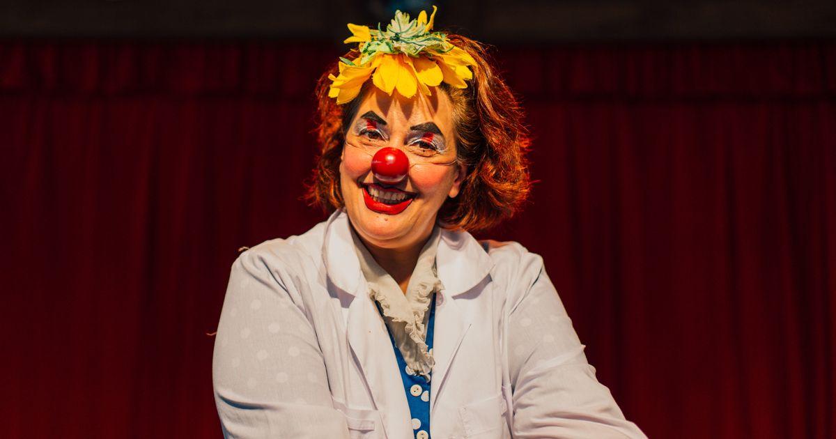 Vera Abbud, a palhaça que leva riso e alegria para a dura realidade dos hospitais