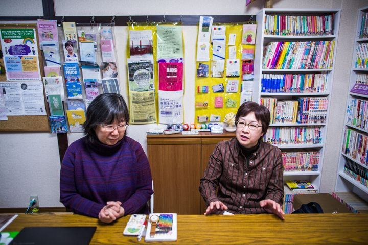 Chizuka Oe and Yoko Ogawa have been together for more than 20 years.