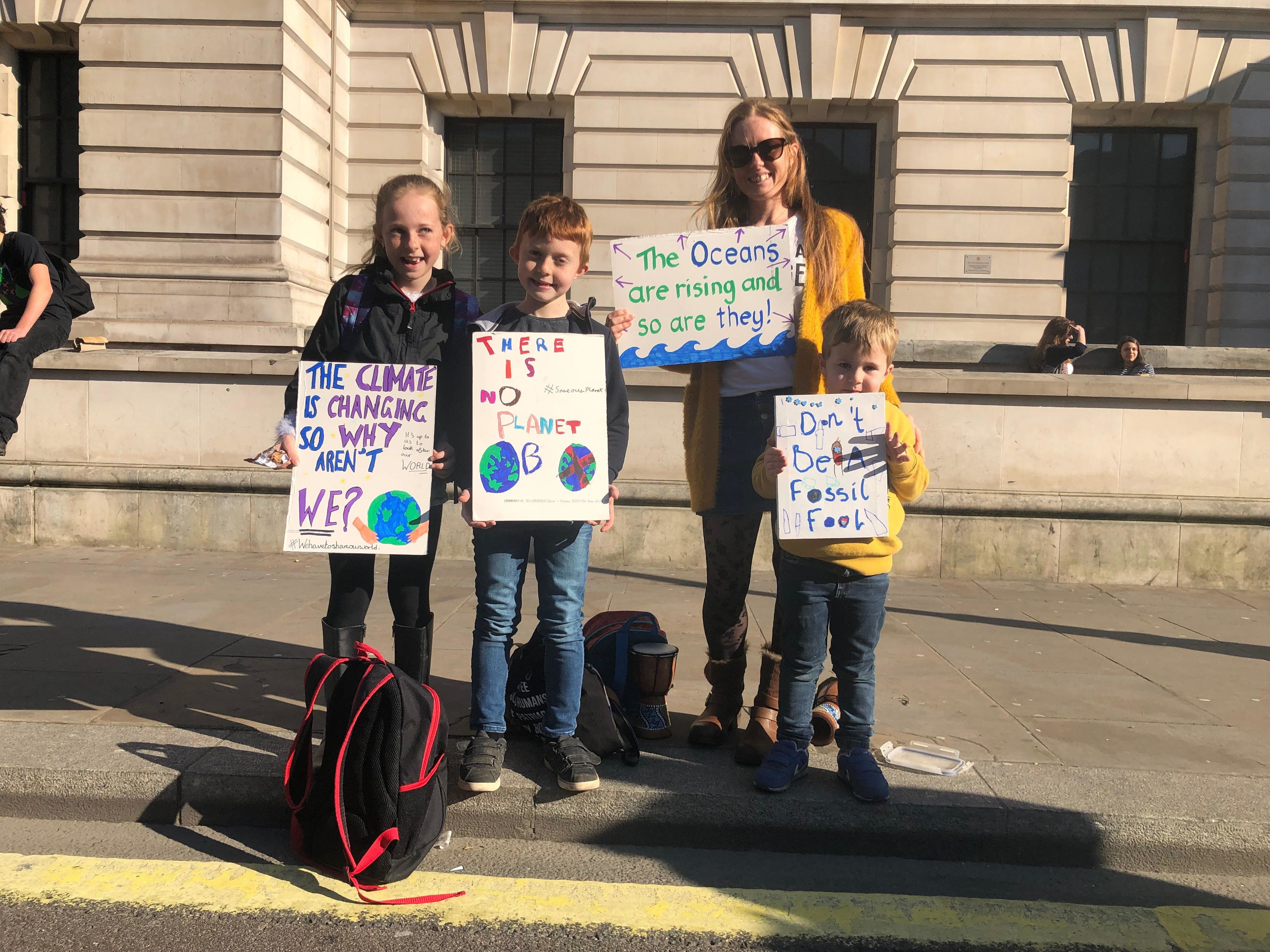 'An Attack on Nature Is An Attack On Us': Here's What The Kids On Climate Strike Want You To