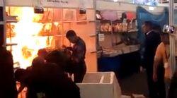 Casablanca: Incendie dans un stand du Salon du