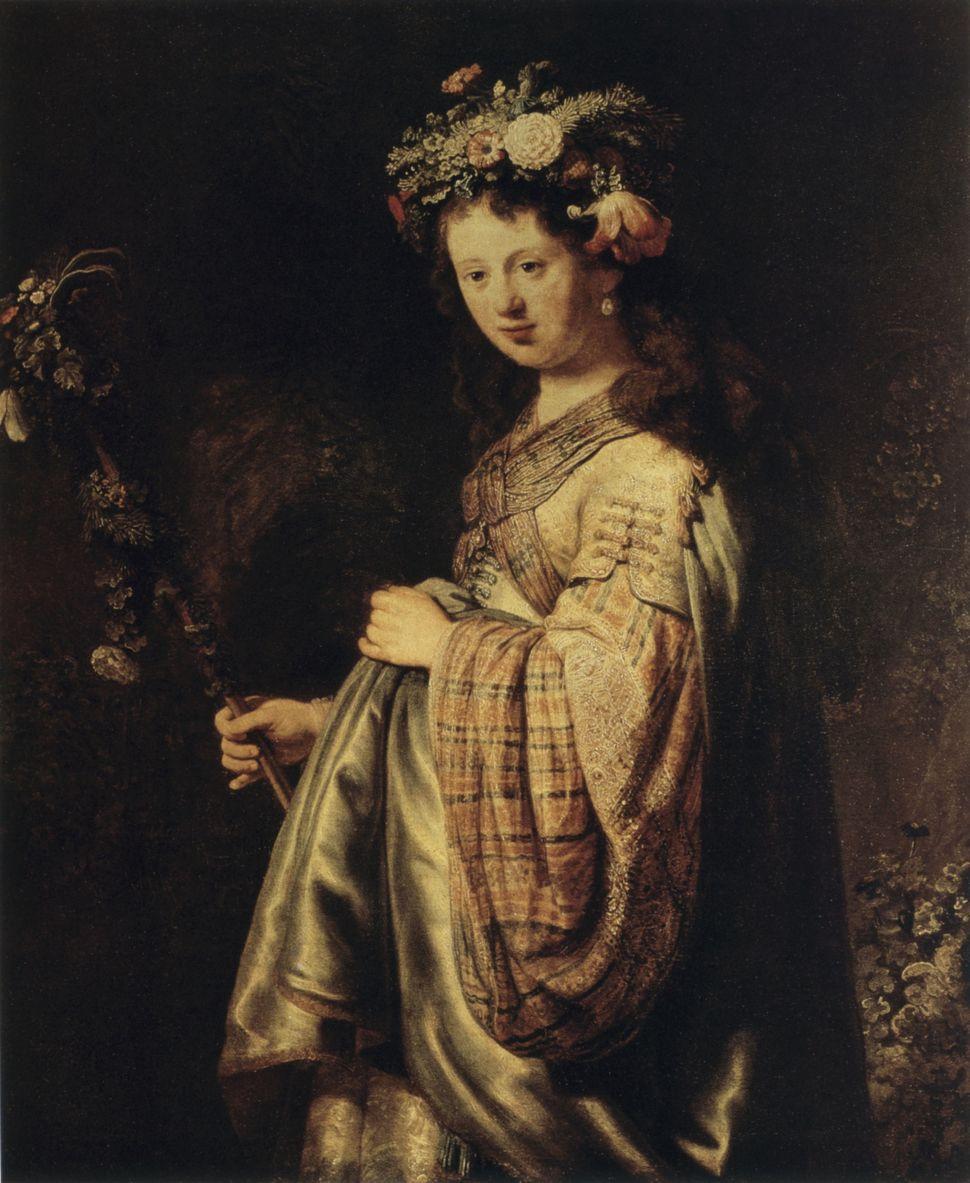 «Η Σάσκια ως Φλόρα» (1634)....