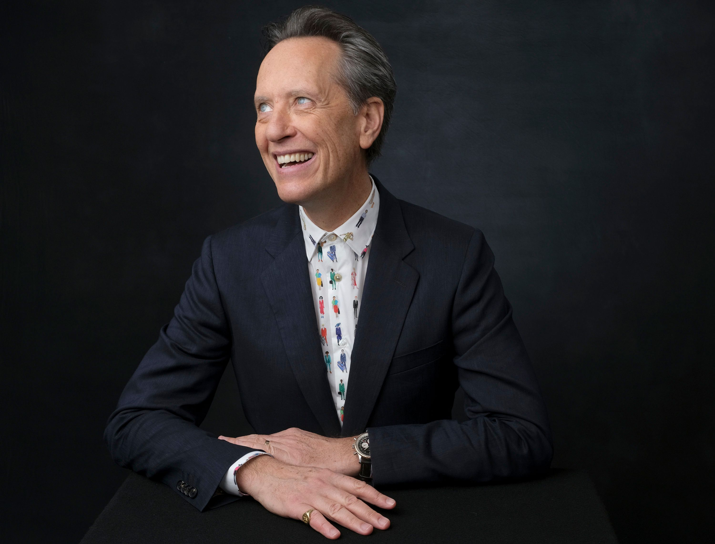 Richard E. Grant poses for a portrait at the 91st Academy Awards Nominees Luncheon at The Beverly Hilton Hotel on Monday, Feb. 4, 2019, in Beverly Hills, Calif. (Photo by Chris Pizzello/Invision/AP)