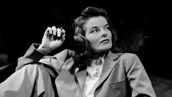 Portrait of actress Katharine Hepburn w. cigarette in hand.  (Photo by Alfred Eisenstaedt/The LIFE Picture Collection/Getty Images)