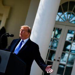 Trump Declares National Emergency To Fund U.S.-Mexico Border