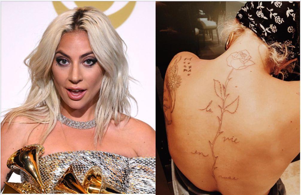 Blame Lady Gaga's Botched Musical Tattoo On 'Too Many