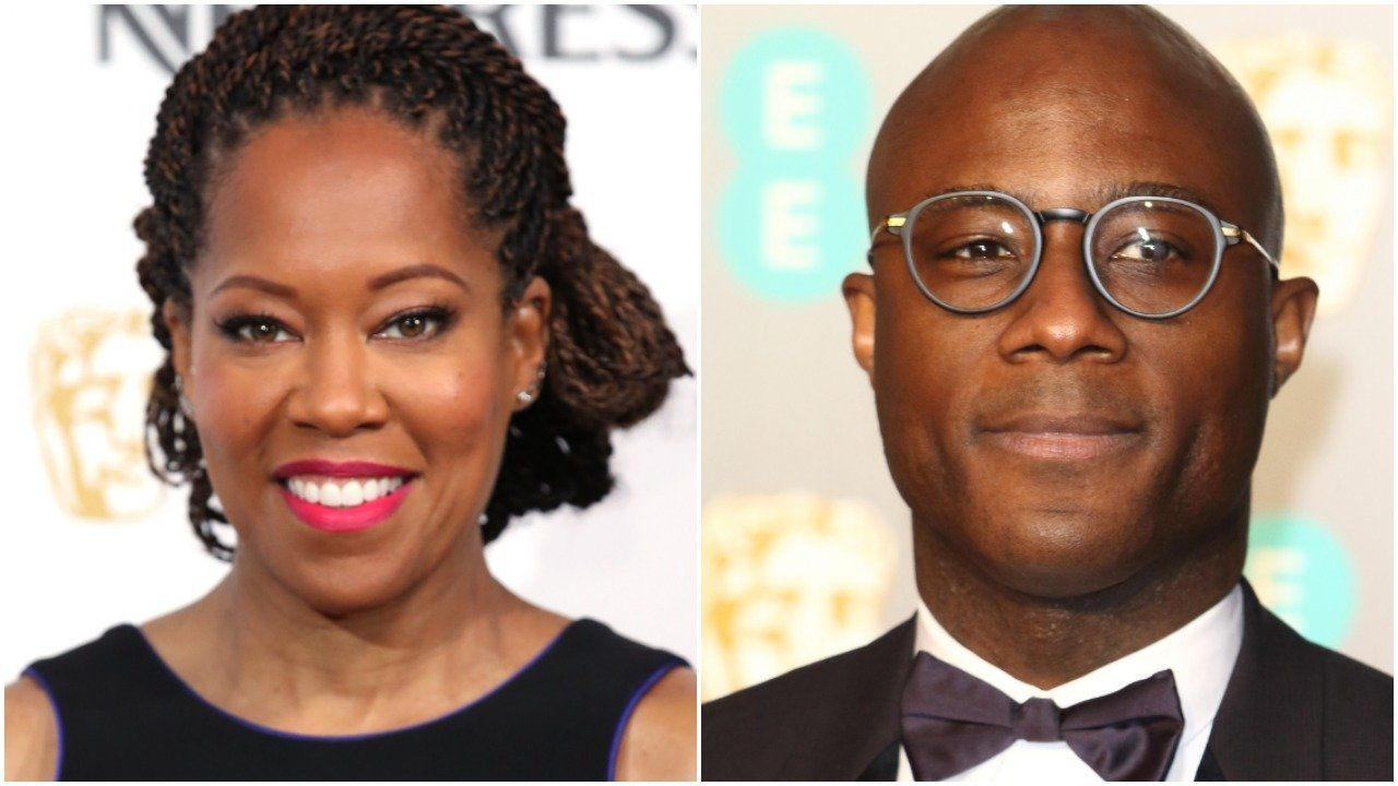 Regina King, Barry Jenkins via Getty Images.