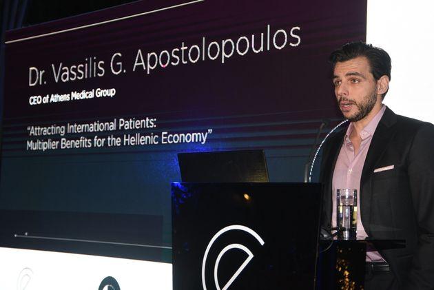 Δρ. Βασίλης Αποστολόπουλος,CEOτου...