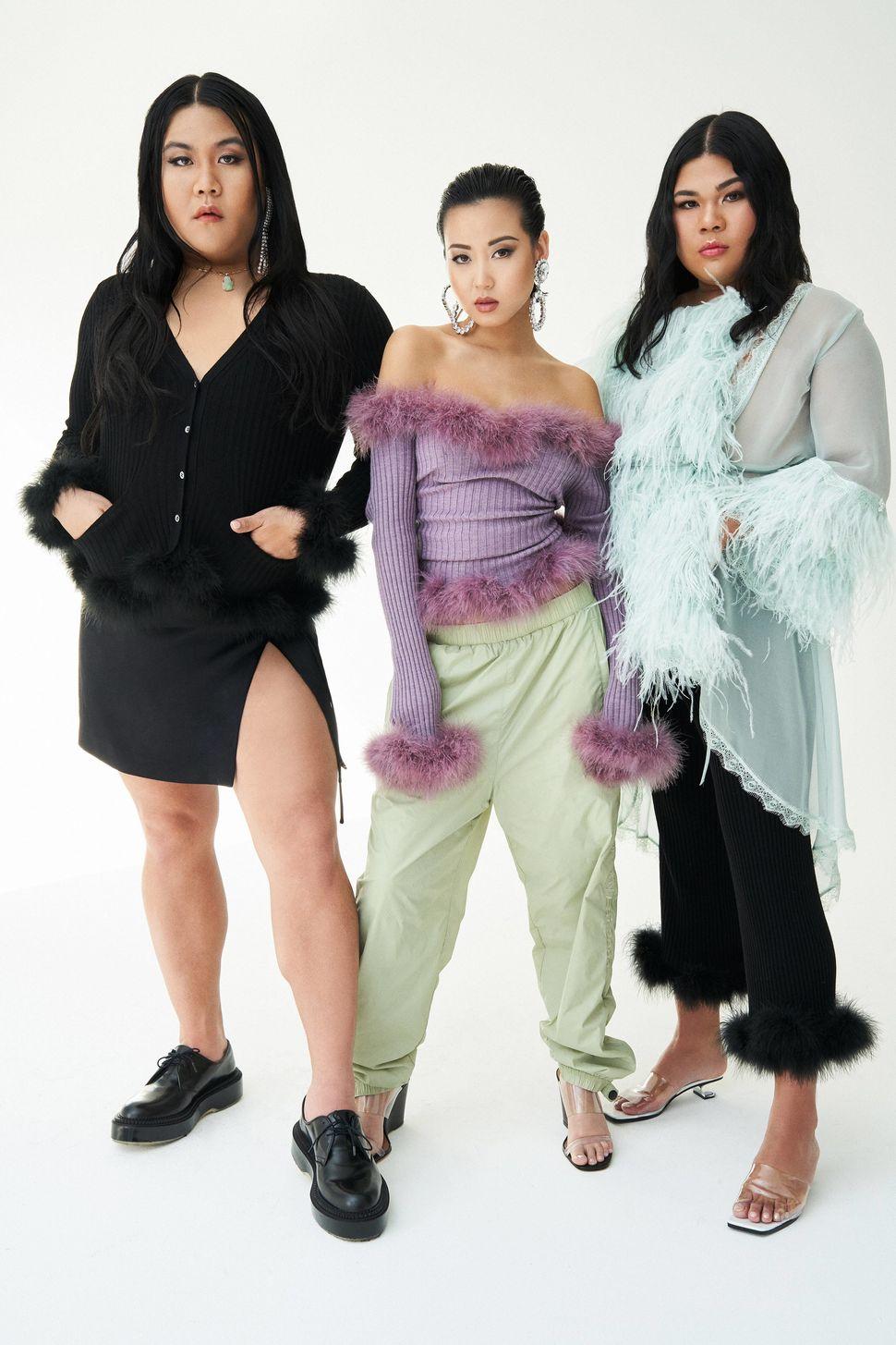 Kyle Luu, Fiffany Luu, DeSe Escobar (the Glam Collective)