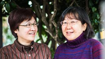 Chizuka Oe and Yoko Ogawa, who have been together for more than 20 years,attempted on Jan
