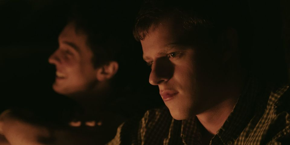 Lucas Hedges dá vida aJared -- personagem que protagoniza a história escrita por...