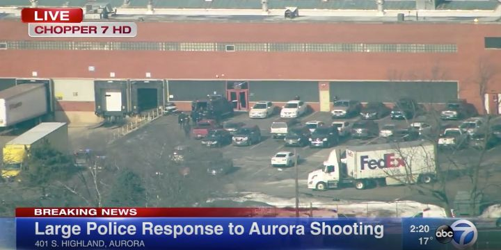 5 Workers Killed, 6 Officers Injured At Illinois Factory
