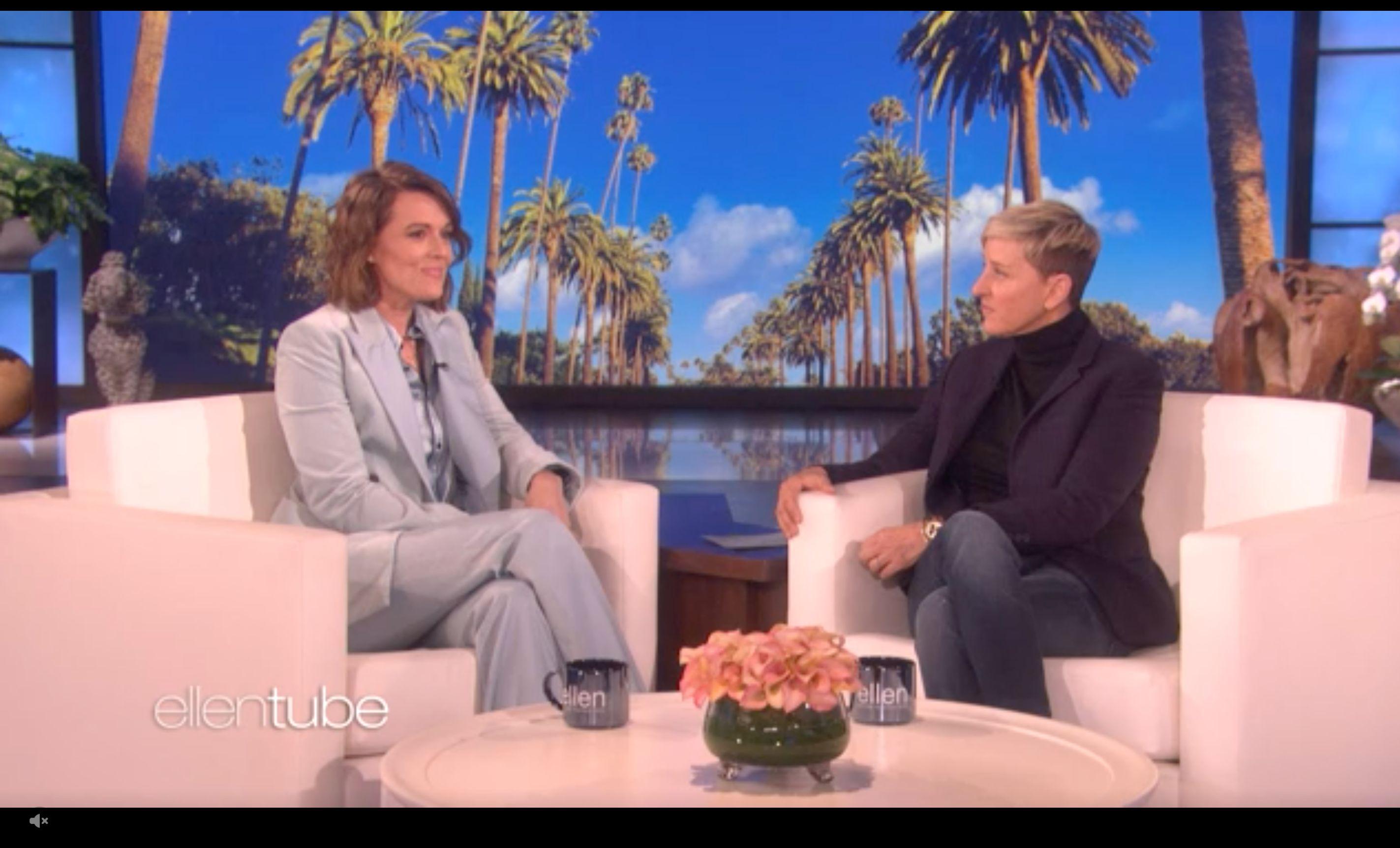 Ellen DeGeneres Brandi Carlile