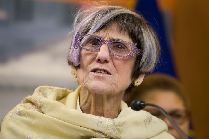 Rep. Rosa DeLauro (D-Conn.) wants to create a government-run program open to everybody while allowing employers to keep