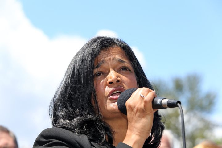 "Rep. Pramila Jayapal (D-Wash.) is putting together a new version of ""Medicare for all,"" a single-payer bill, and hopes to int"