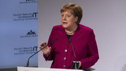 Merkel fordert China zu Gesprächen über Rüstungskontrolle auf – und kassiert