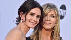 """JenniferAniston und Courtney Cox: Privatjet der """"Friends""""-Stars muss"""
