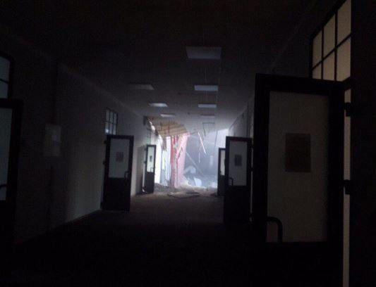 Κατάρρευση τμήματος πανεπιστημιακού κτιρίου στην Αγία Πετρούπολη-Δεν υπάρχουν αναφορές για