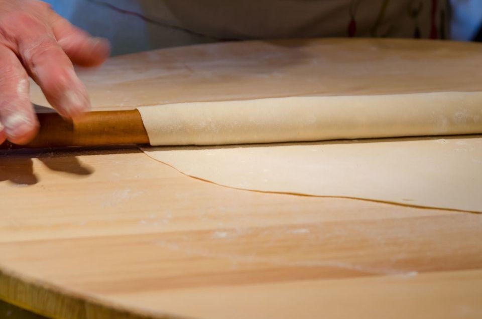 Λεπτό και τραγανό παραδοσιακό φύλλο για