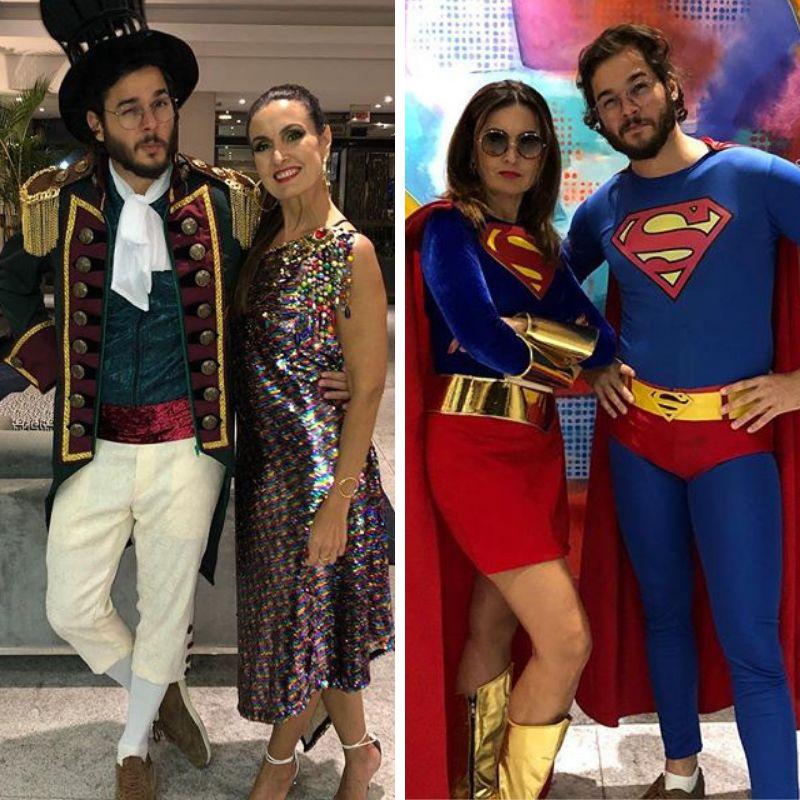 O Carnaval 2019 já começou para Fátima Bernardes e Túlio