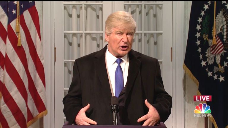 'SNL': Alec Baldwin's Trump Hopes His 'Hell Of Playing President Will Finally Be