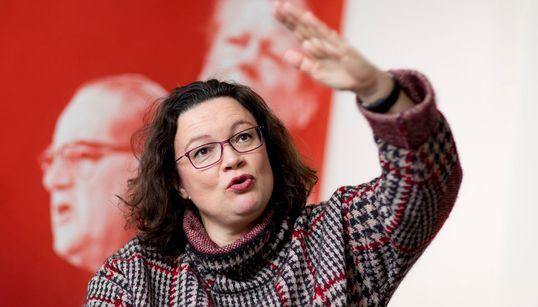 SPD nach Reformplänen zum Sozialstaat wieder zweitstärkste Kraft im