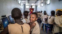 Au Bénin, des classes mobiles pour réparer la fracture