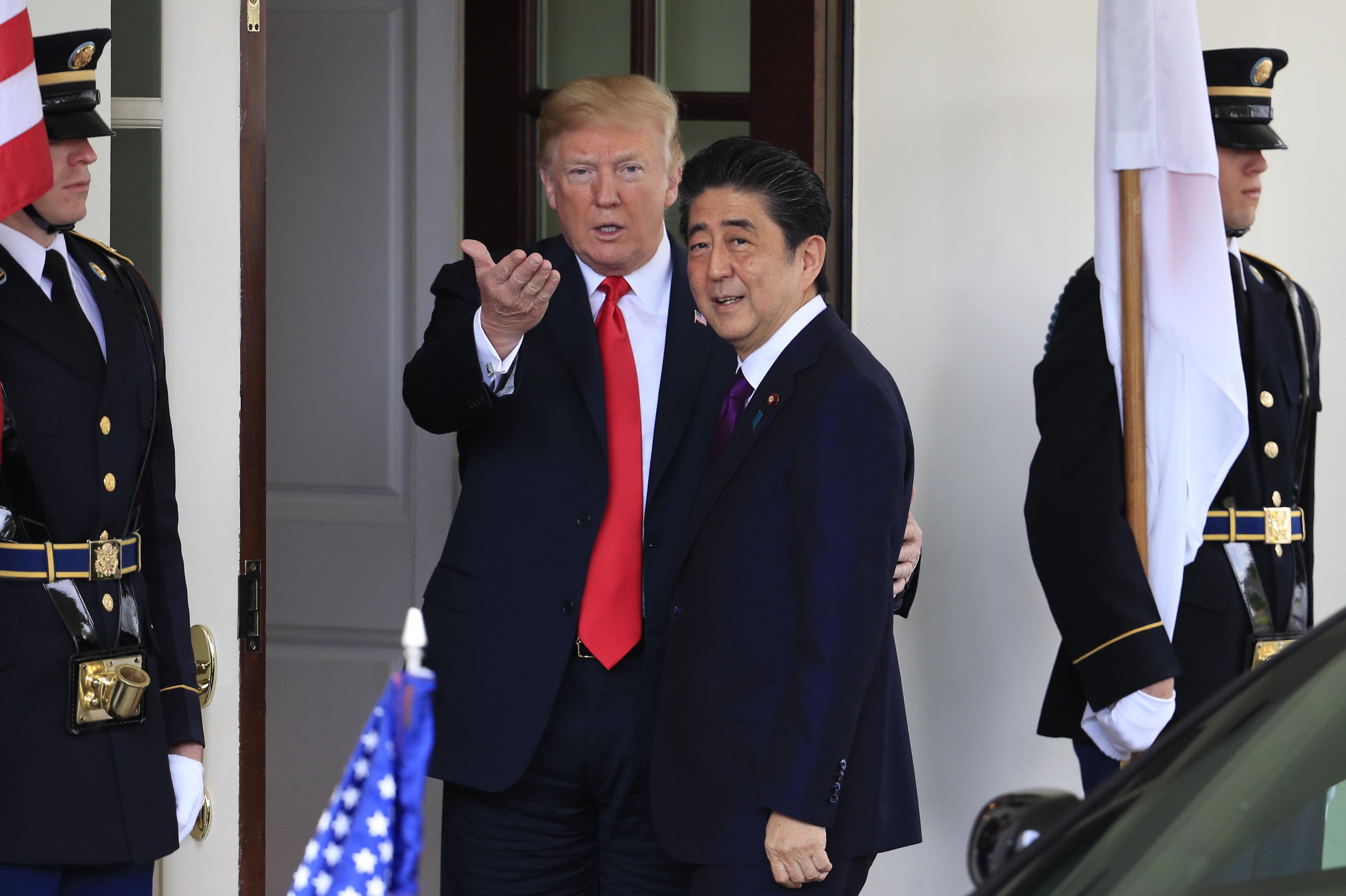 Japan's Leader Nominated Trump For Nobel Prize At Washington's Urging: Report